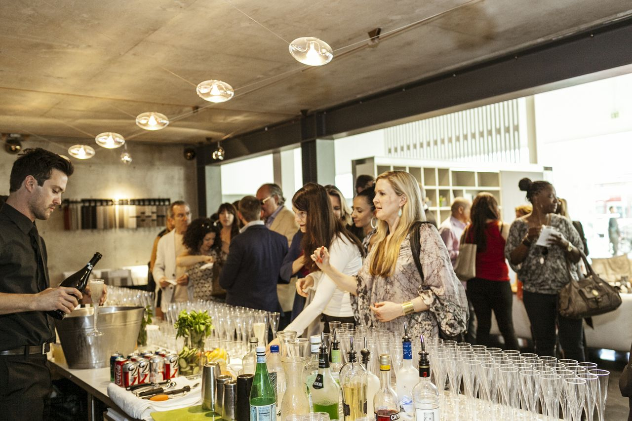 Suriya Events Open Bar Event at IN-EX Furniture Store Beverly Hills