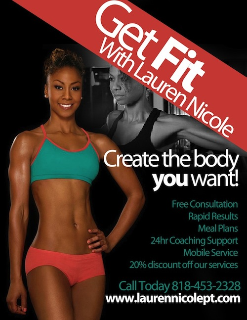 Lauren Nicole Personal Trainer in Los Angeles Getting You The Results You Need Now