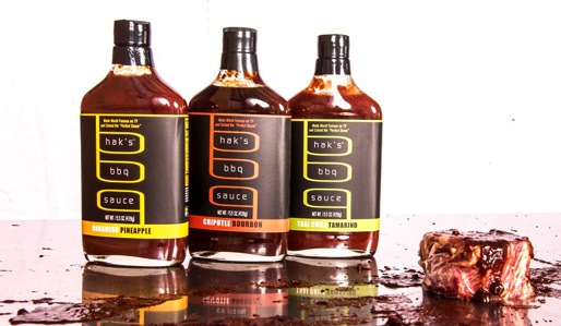 Haks Platter a trio of BBQ Sauce by Sharone Hakman