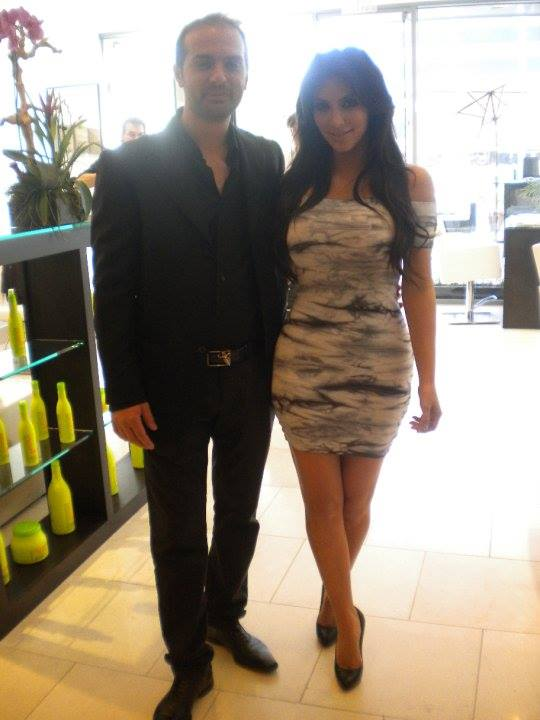 Vito Esposito Hair Stylist to the Stars with Kim Kardashian