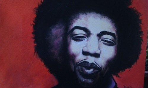 Bruce Bermudez - Jimi Hendrix