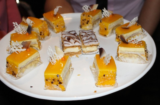 Dessert Plate at Pump Restaurant and Lounge West Hollywood