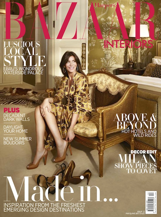 Harpers Bazaar Interiors Luigi Irauzqui For Casavechhia Design Group