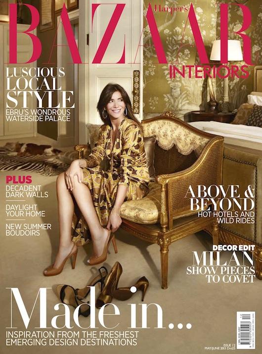 Harpers Bazaar Interiors Luigi Irauzqui For Casavechhia Design Group