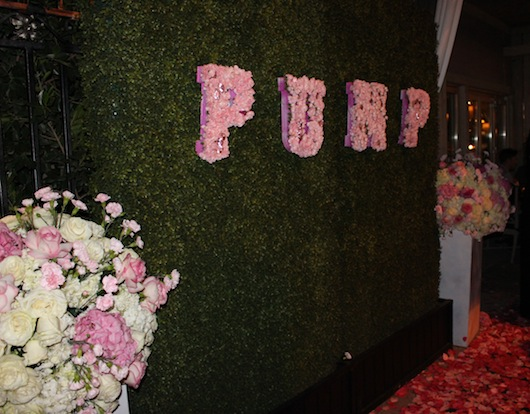 Pump Restaurant West Hollywood Grand Opening Celebration with a Rose Celebrity Red Carpet