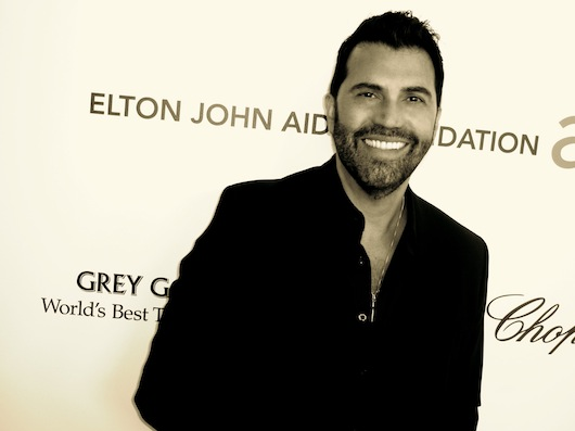 Red Carpet at the Elton John Oscar Party 2013 Luigi Irauzqui