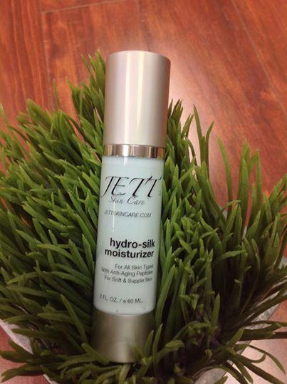 Jett skin care Hydro Silk Moisturizer