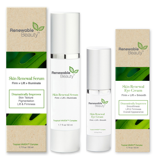 Renewable Beauty Skincare high performance skincare