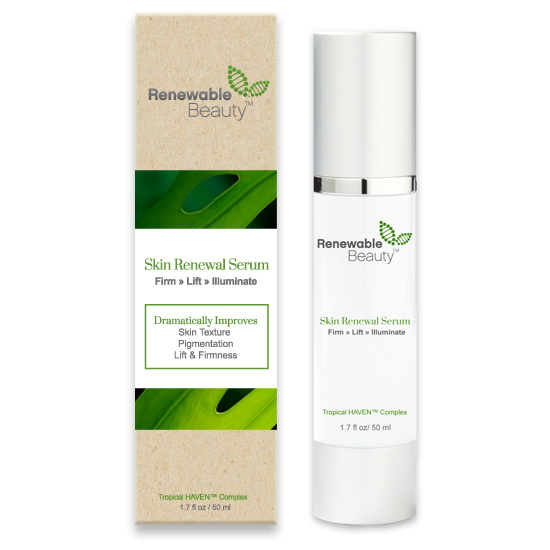 Renewable Beauty Serum Eye Cream and skin renewal serum