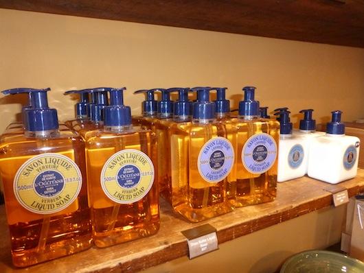 L'Occitane Verbena liquid soap Beverly Hills Store