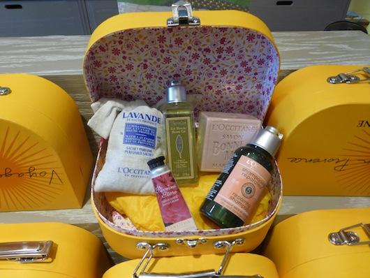 L'Occitane shampoo conditioner Lavender Beverly Hills Store