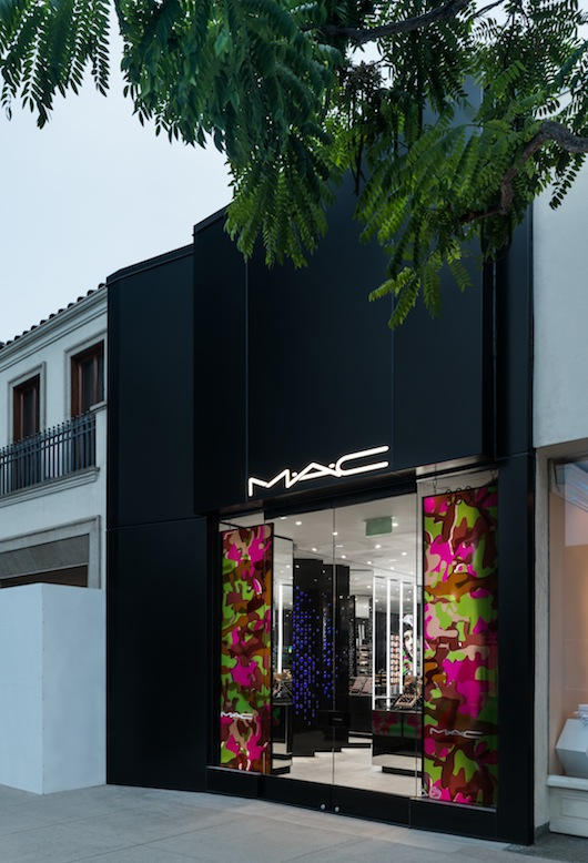 MAC Beverly Hills On North Beverly is MAC Makeup's Fashion Centric Store