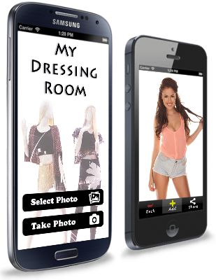 Dressing Room App lets your try on clothes from your phone