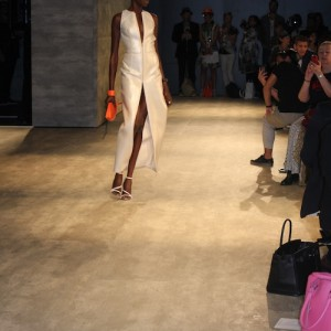 Georgine SS2015 Max Steiner designs surfboard purse runway