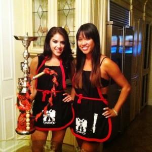 LA's hottest hookah catering served by LA hot girls