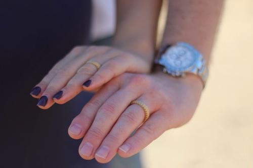 Wedding Photographers by Jeffrey Branover Photography Wedding Rings closeup