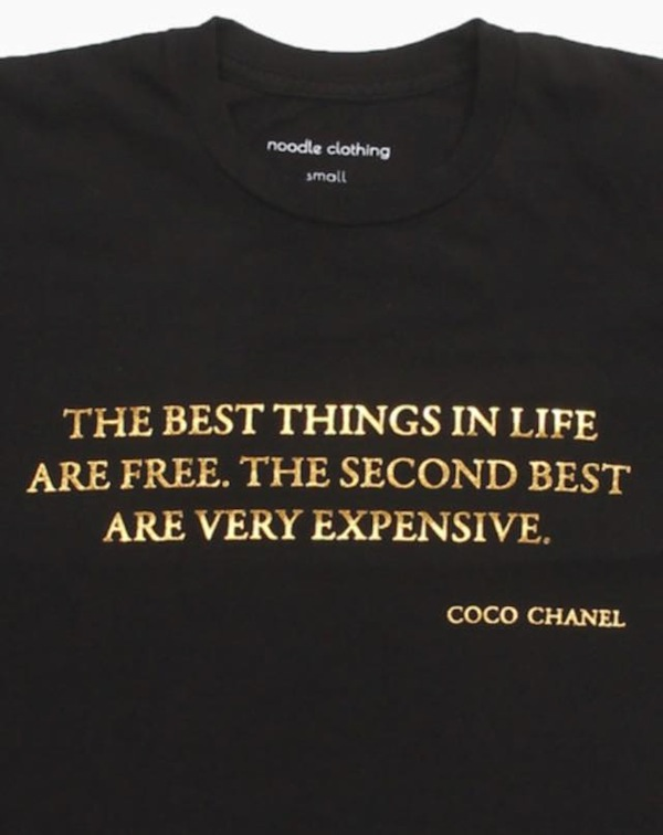 Noodle Clothing Fashion quotes t-shirts