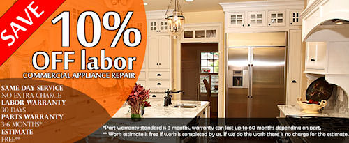 appliance repair riverside promo banner