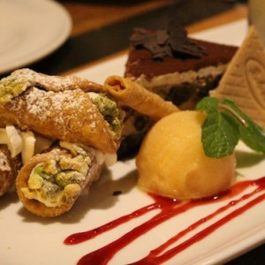 Il Fornaio best desserts at the Village Topanga