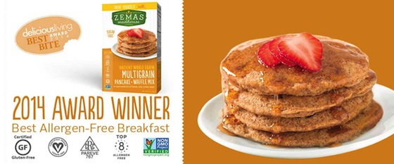 Best Allergen Free Breakfast 2014 Award Winner Zema Madhouse Foods