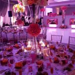 Decorating a wedding Centerpiece floral party planning los angeles